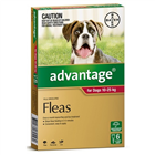Advantage Dog Large Red 6 Pack