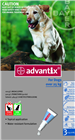 Advantix Flea And Tick Treatment for Dogs 1025kg 3 Tablets