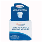 Surgipack Medicine Measures Disposable 30ml 50 Pack 6319