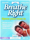 Breathe Right Nasal Clear Regular 30 Strips
