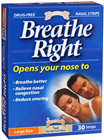 Breathe Right Nasal Clear Large Size 30 Strips