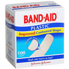 Band  Aid Plastic 100 Strips