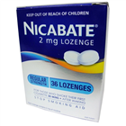 Nicabate Lozenge 2mg 36 Lozenges