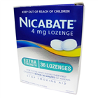 Nicabate 4mg 36 Lozenges