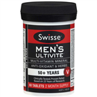 Swisse Mens Ultivite 50 Years 60 Tablets