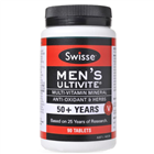Swisse Mens Ultivite 50 Years 90 Tablets