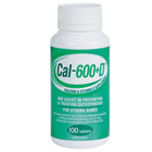 Cal600D  Calcium  Vitamin D 100 Tablets
