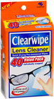 Clearwipe Lens Cleaner 40 Value Packs