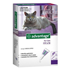 Advantage Flea Treatment for Cats Over 4kg 4 Tablets