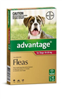 Advantage Flea Treatment For Dogs 1025kg 4 Tablets