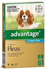 Advantage Flea Treatment For Dogs 410kg 6 Tablets