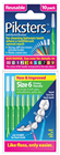 Piksters Size 6 Green Interdental Brush 10 Pack